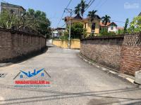 bán đất mặt đường xóm 5 đông dư gia lâm dt 38m đường 4m lh 0971413456