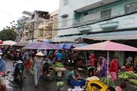 chính chủ bán gấp 300m2 đất thổ cư mặt tiền đường 16m nằm đối diện chợ bình dương sổ hồng riêng