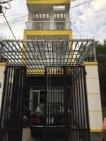 bán nhà phố 1 trệt 2 lầu trung tâm quận 9 đường lò lu dt 90m2 4 tỷ 8 tặng nội thất 0909980787