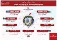 Bán căn hộ khách sạn Huế, Căn hộ 5 Apec Mandala Wyndham giá chỉ từ 750 triệu LH: 0986967066