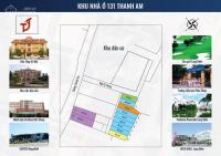 bán đất mặt đường thanh am phường thượng thanh diện tích 64m2 sổ đỏ chính chủ