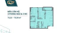 sở hưu căn hộ quận 7 đường nguyễn lương băng căn 3pn giá chỉ 3 tỷ căn giá cđt lh 0902093066