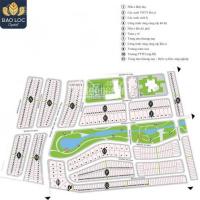 Cần bán lô biệt thự ngay hồ cảnh quan tuyệt đẹp dự án Bảo Lộc Capital, sổ riêng, xây tự do, giá rẻ LH: 0906821347