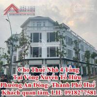 Cho Thuê Nhà 4 Tầng Tại Vòng Xuyến Tố Hữu- Phường An Đông- Thành Phố Huế LH: 0906215333