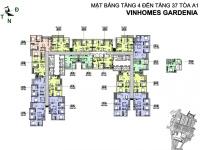 cần bán gấp căn hộ 2pn vinhomes gardenia mỹ đình cho khách hàn cho thuê rất được giá lh 0971896398