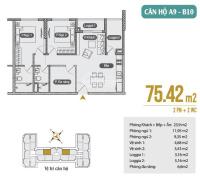 bán lại căn hộ 75m2 tầng 10 anland 2 198 tỷ 25pn mới đóng được khoảng 200tr 2 tháng đóng 1 lần