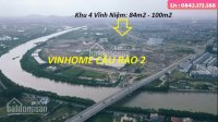 Bán 100m2 đất khu 4 Vĩnh Niệm , hướng ĐN , gần sát ngay VinHome LH: 0397932480