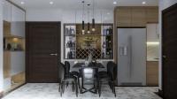 Cho thuê căn 2 ngủ full nội thất cao cấp tòa C3 Vinhomes Dcapitale giá 18 triệu Lh: 0829850693