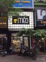 sang nhượng shop thời trang phố hot chùa láng vị trí đông đúc sầm uất giá thuê chỉ 22 trth