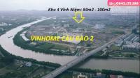 Bán 84m2 đất khu 4 Vĩnh Niệm , hướng TB , giá tốt , vị trí đẹp LH: 0397932480