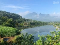 bán lô đất mặt hồ s 4800m2 thuộc vân hòa ba vì lô đất có 1 không 2 vị trí đắc địa giá tốt