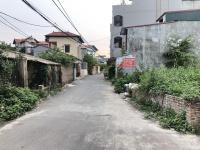 bán đất mặt đường xóm 5 đông dư gia lâm dt 38m2 đường trải nhựa 4m lh 0987498004