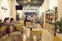 cần sang gấp quán cafe hoạt động bình thường vị trí đẹp 1 trệt 2 lầu ngay 16 lê văn thọ p 11 gv