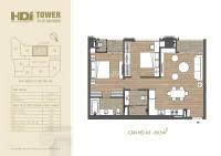 ch 2pn view hồ vuông vắn hợp phong thủy đắc địa duy nhất tại dự án hdi tower lh ngay 0979220466