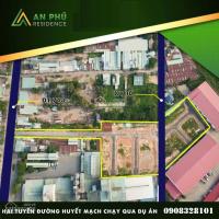 ngộp tiền cần bán gấp lô đất an phú liền kề vincom plaza sổ riêng mặt tiền dt743 chỉ 16 tỷ68m2