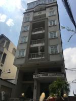 bán khách sạn đường hoàng văn thụ đối diện trung tâm hội nghị adora center tân bình 8x29m hầm 8lầu