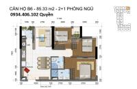bán căn 3pn 2wc full nội thất tầng cao the golden star view đẹp diện tích 86m2 lh 0934406102