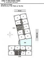 chính chủ bán căn hộ cao cấp âu cơ tower tân phú s 89m2 3pn 2wc 255 tỷ tặng nội thất