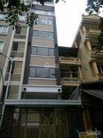 chính chủ cho thuê nhà mp nguyễn khang dt 55m2 x 6 tầng 1 tum mt 4m thang máy thông sàn 50tr