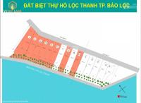 chính chủ đất biệt thự bảo lộc hồ lộc thanh 800m2 10x80m 1 tỷ 250tr lh 0919174279