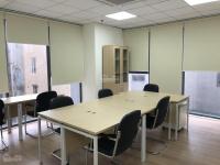 tôi chính chủ cần cho thuê văn phòng tại phố trần thái tông dt 70m2 chia 2 phòng vệ sinh riêng