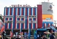 Điện máy Thiên Hòa - Cần thuê mặt bằng là nhà mặt tiền tại các Quận Trung Tâm TP. Hồ Chí Minh