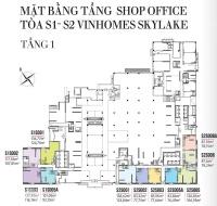 bán shop office vinhomes sky lake phạm hùng liên hệ 0978317731