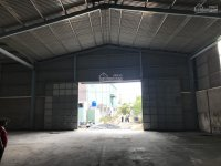 cho thuê kho xưởng 1300m2 phù hợp sản xuất nhiều mặt hàng đa dạng mặt tiền thuộc cụm kcn bến lức