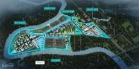 nhà phố vườn waterpoint bến lức la đại đô thị chuẩn singapore 6x15m 1 trệt 1 lầu giá 26 tỷ