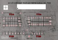 bán nhà liền kề chính chủ ngõ 622 minh khai đường 3 ô tô tránh nhau 86m2 xây 5 tầng 198 tỷ tl