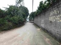 bán 39m mặt đường nhựa thôn an hòa sổ đỏ chính chủ lô góc 2 mặt tiền đã có tường bao quanh