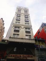 cho thuê khách sạn 18 phòng lý tự trọng q1 dt 44x30m 6 tầng vị trí ngay lê anh xuân giá 130trh