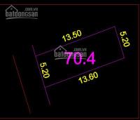 bán đất tại đường cửu việt 2 trâu quỳ gia lâm dt 69m2 mt 52m lô góc giá 345trm2
