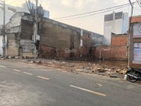 bán đất mt đàm thận huy phú thọ hoà tân phú gần nhà thờ tân hương shr dt 108m2