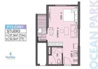 chỉ duy nhất 1 căn studio vinhomes ocean park ký mới giá 285trm2 giá tốt chưa từng có 0948433313