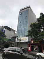 bán tòa nhà văn phòng ngõ 131 thái hà 285 tỷ 150m2 mặt tiền 9m xây 8 tầng đang cho thuê cao