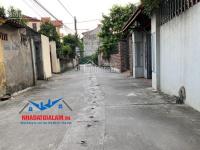 bán gấp 82m2 đất mặt đường rộng 5m thôn cam cổ bi gia lâm lh 0971413456