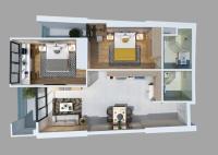 chính chủ bán gấp căn hộ gateway penthouse 2pn giá tốt