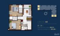 chính chủ đã mua căn hộ happy one sang nhượng lại căn góc 2pn view công viên giá tốt 0906450552