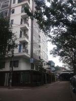 cho thuê nhà căn góc 2 mặt tiền ngõ 10 phố nguyễn văn huyên diện tích 60m2 x 7 tầng thông