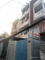 nhà mặt tiền hẻm thông tây hội p10 gò vấp 45x22m