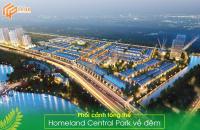 chính chủ bán nhanh lô 100m2 dự án homeland central park giá sập hầm lh 0931121905