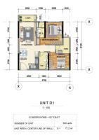 cần bán gấp căn hộ 71m2 2pn 2wc block e emerald celadon city chênh lệch chỉ 185trcăn