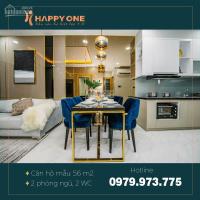 cần tiền bán gấp căn hộ chung cư happy one bình dương dt 66m2