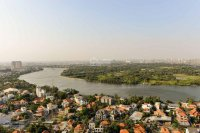 căn 3pn nhà trống view sông trực diện tại tháp 4 masteri thảo điền 93m2 lh 0777870288