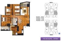 bán căn hộ 3pn 3 mặt thoáng 126m2 24 tỷ tại ngã tư nguyễn khuyến 195