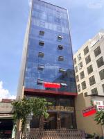 bán tòa nhà văn phòng mt trường sơn p 2 q tân bình dt 8x17m hầm 7 lầu giá 39 tỷ lh 0938807958