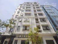 cho thuê mặt phố mới khúc thừa dụ xây dựng 170m2 x 7 tầng mặt tiền 12m làm văn phòng