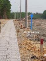 đất vành đai becamex chơn thành giá 450tr250m2 có 100m2 thổ cư đường nhựa 12m