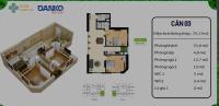 chính chủ cần bán căn góc tòa orchard n03ct1 icid complex lê trọng tấn dt 76m2 2pn 2wc